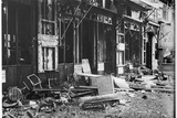 The 'Pschoor' Pub, in Paris, Destroyed at the Beginning of the War, August 1914 Photographic Print by Jacques Moreau