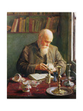 The Connoisseur Giclee Print by Walter Bonner Gash