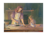 The Young Task Masters Giclee Print by John William Allison