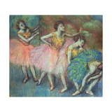 Four Dancers, 1903 Giclee Print by Edgar Degas