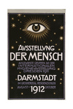 German Advertisement for a 'Hygiene Exhibition' in Darmstadt, Printed by C.C. Meinhold Und S… Giclee Print by Franz von Stuck