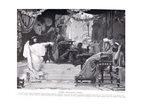 Esther Denouncing Haman, Illustration from 'Hutchinsons History of the Nations', c.1910 Giclee Print by Ernest Normand