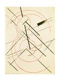 Linear Composition Giclee Print by Lyubov Sergeevna Popova