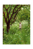 The Orchard Giclee Print by Thomas Cooper Gotch