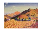 Spanish Landscape, 1912 Giclee Print by Derwent Lees