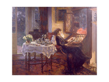 The Quiet Hour, 1913 Giclee Print by Albert Chevallier Tayler