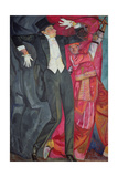 Portrait of the Producer Vsevolod Emilievich Meyerhold (1874-1940) 1916 Giclee Print by Boris Dmitrievich Grigoriev