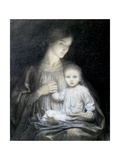 Mother and Child, c.1920 Giclee Print by Frank Bernard Dicksee