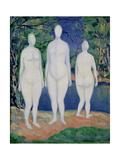 Bathers, 1908 Giclee Print by Kasimir Malevich