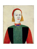 Little Girl, 1932 Giclee Print by Kazimir Severinovich Malevich