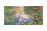 Nympheas, c.1919-22 Giclee Print by Claude Monet