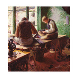 Tailors Giclee Print by Charles Mertens
