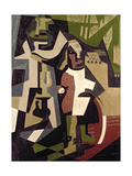 Composition with People, 1916 Giclee Print by Maria Blanchard