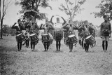 4th King's African Rifles Drummers, Uganda, c.1920s Photographic Print by Margaret Trotter