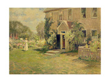 A New England Cottage Giclee Print by Edmund Henry Garrett