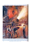 The Birth of the Giant of Modern Industry, Illustration from 'Newnes Pictor Giclee Print by Charles John De Lacy