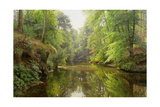 The Quiet River, 1913 Giclee Print by Peder Mork Monsted