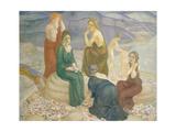 Evening, 1908 Giclee Print by Kuzma Sergeevich Petrov-Vodkin