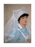 Nursing Sister Giclee Print by Richard George Mathews