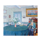 Interior Giclee Print by Harold Gilman