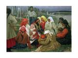 Peasant Women, 1905 Giclee Print by Vassa Epifanova