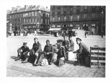 Scottish Soldiers on the Quai at Rouen, 1914 Photographic Print by Jacques Moreau