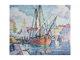 The Port, 1923 Giclee Print by Paul Signac