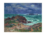 A Squall, Finistere, 1911 Giclee Print by Henry Moret