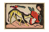 Faultier, 1912 Giclee Print by Franz Marc