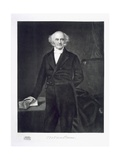 Martin Van Buren, 8th President of the United States of America, Pub. 1901 Reproduction procédé giclée par George Peter Alexander Healy