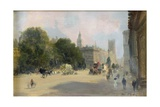 Early Afternoon, Whitehall, London Giclee Print by George Hyde Pownall