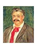 Portrait of Wilhelm Muhlfeld, 1910 Giclee Print by Pierre-Auguste Renoir