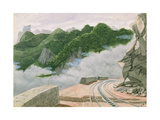 View from the Coronado Railway, Rio de Janeiro Giclee Print by James William Wells