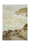 Beer Cove in a Storm, 1922 Giclee Print by Frank Dadd