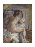 Nude on a Bed, c.1914 Giclee Print by Harold Gilman
