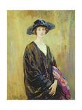Portrait of Dorothy Una Ratcliffe (1891-1967) Giclee Print by Ambrose Mcevoy