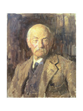 Portrait of Thomas Hardy (1840-1928), 1924 Giclee Print by Reginald-Grenville Eves