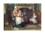 Bedtime Story, 1910 Giclee Print by William Kay Blacklock