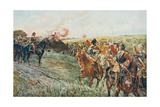 After the Battle of Naseby, 14th June 1645, from 'British Battles on Land and Sea' Edited by Sir… Giclee Print by William Barnes Wollen