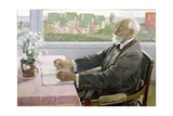 Ivan Petrovich Pavlov (1849-1936) in His House at Koltushy, Near St. Petersburg, 1935 Giclee Print by Mikhail Vasilievich Nesterov