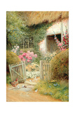 Los visitantes Lámina giclée por Arthur Claude Strachan