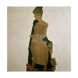 Gerti Schiele, 1909 Giclee Print by Egon Schiele