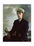 Lieutenant Murray Johnstone Rn, 1966 Giclee Print by Doris Clare Zinkeisen