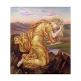 Demeter Mourning for Persephone, 1906 Giclee Print by Evelyn De Morgan