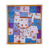 The Legend of the Nile, by P. Daquin after a Pastel Drawing, 1971 Giclee Print by Paul Klee
