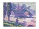 Mydlow Village, Poland, 1907 Giclee Print by Robert Polhill Bevan