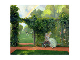 The Ridiculed Kiss, 1908 Giclee Print by Konstantin Andreevic Somov