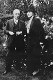 Maud (1875-1960) and Leonard (1872-1953) Messel at Nymans Photographic Print by  English Photographer