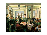 Canteen, Nijmegen, Holland, 1945 Giclee Print by Molly Bobak