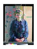 Sylvia Gosse, 1912 Giclee Print by Harold Gilman
